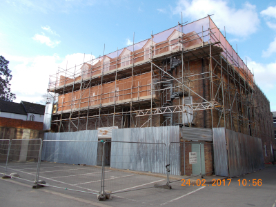 parker scaffold scaffolding block building