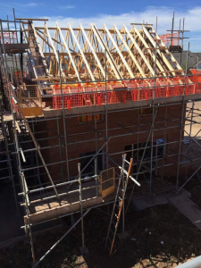 parker scaffold scaffolding new build