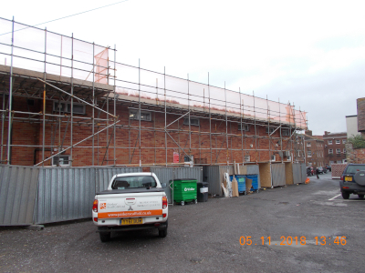 parker scaffold scaffolding building site