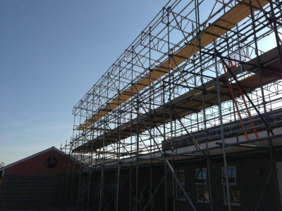 parker scaffold new build development scaffolding