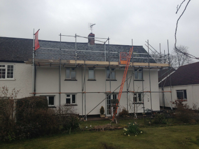 parker scaffold domestic client scaffolding