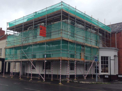 parker scaffold scaffolding for roofers to gain access