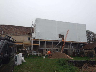 parker scaffold temporary roofing